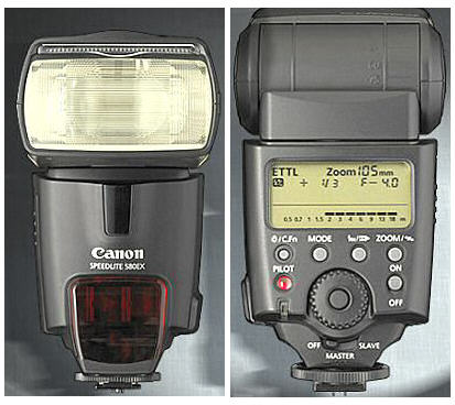 Canon 580EX Speedlite Mark II TTL