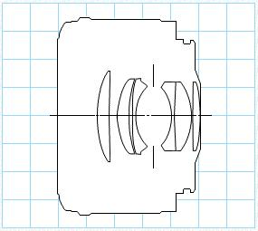 Block Diagram of Canon EF 50mm F1.8 Mark II Standard AF Lens
