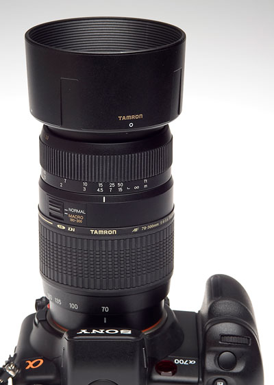 news tamron 70 300mm f4 5 6 af macro lens nikon canon. Black Bedroom Furniture Sets. Home Design Ideas