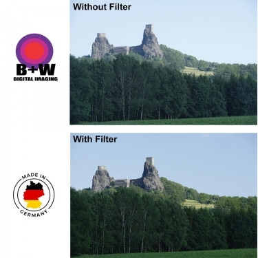 B+W 72mm Digital E F-Pro 010 MRC UV Haze Filter