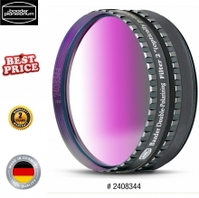 Baader 2-Inch Double Polarising Filter With Rotating Filter Cell