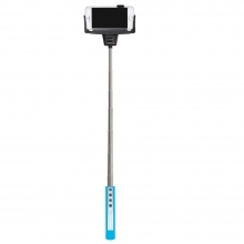 Dorr SF-100RC Blue Selfie Stick with Built-in Bluetooth