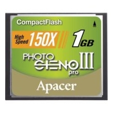 Apacer 1GB 150X Compact Flash Card
