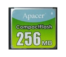 Apacer 256MB Compact Flash Card