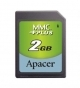 Apacer 2GB MMCplus SD Card