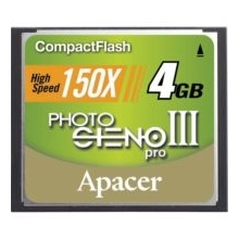 Apacer 4GB 150X Compact Flash Card