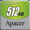 Apacer 512MB Compact Flash Card