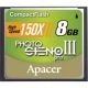 Apacer 8GB 150X Compact Flash Card