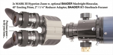 Baader Maxbright Binocular Viewer For Telescopes
