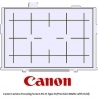 Canon Camera Focusing Screen EG-D Type D (Precision Matte with Grid)