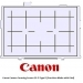 Canon Camera Focusing Screen EG-D Type D Precision Matte with Grid