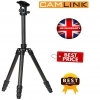 Camlink Carbon Fibre Lightweight Traveller Ball Head Tripod - Black