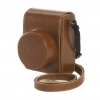 Canon DCC-1820 Brown Leather Case for G1X II