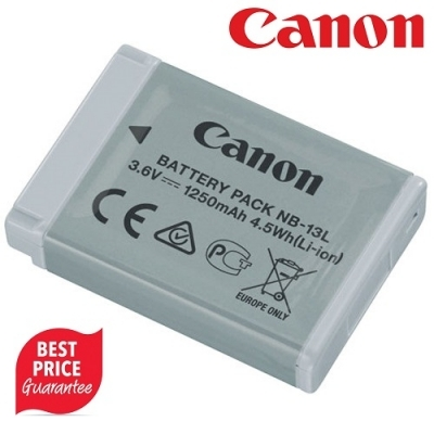 Canon NB-13L Lithium-Ion Battery (3.6V, 1250mAh)