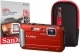 Panasonic DMC-FT30 Tough Red Camera Kit inc 16GB SD Card & Case