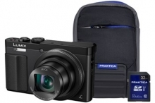 Panasonic DMC-TZ70 Black Camera Kit inc 32GB Class 10 SDHC Card & Cas