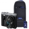Panasonic DMC-TZ80 Silver Camera Kit inc Case & 16GB SD Card