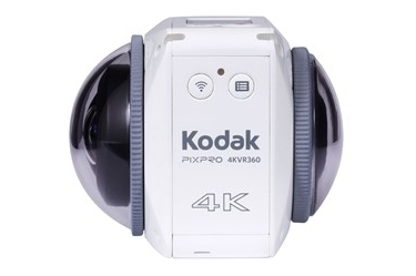 Kodak PIXPRO VR 360 Degree 4K Digital Camera White