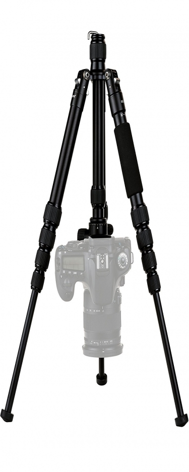 Dorr HQ1315 Aluminium 5 Section Black Tripod With Ball Head