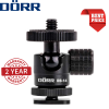Dorr DB-14 Micro Ball Head 1/4 Inch with Flash Shoe Adaptor
