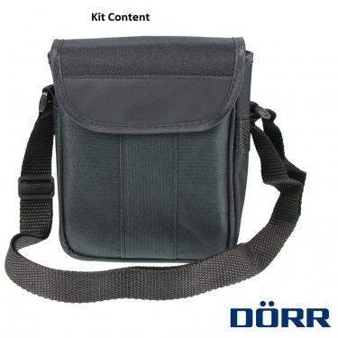 Dorr Danubia 10x42 Bussard I Roof Prism Pocket Binoculars