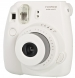 Fujifilm Instax Mini 8 White Instant Camera inc 10 Shots