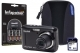 Kodak PIXPRO FZ43 Black Camera Kit with 4x AA Batteries, 8GB SD