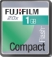 Fuji 1GB Compact Flash 20x memory Card