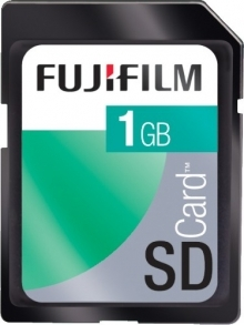 Fujifilm 1GB Secure Digital 60x Memory Card