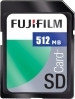 Fujifilm 512MB Secure Digital 60x Memory Card