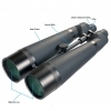 Helios Apollo High Resolution 22x85 Observation Binoculars