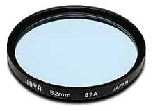Hoya 62mm Standard 82A Blue Filter