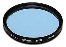 Hoya 62mm Standard 82B Blue Filter