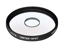 Hoya 67mm Center Spot Glass Filter