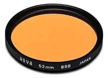 Hoya 72mm Standard 85B Tungsten Filter