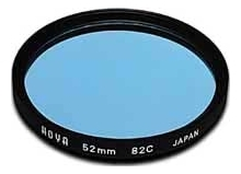 Hoya 77mm Standard 82C Blue Filter