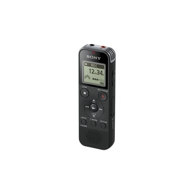 Sony ICD-PX470 4GB USB Stereo Mic Digital Voice Recorder - Black