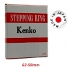 Kenko 62-58mm Step Down Adapter Ring