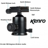 Kenro Large BC3 Advanced Triple Action Ball Head