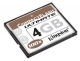 Kingston 4GB CompactFlash Ultimate 100X Card CF/ 4GB-U