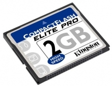 Kingston 2GB Elite Pro CF Card