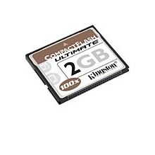 Kingston 2GB CompactFlash Ultimate 100X Card CF/ 2GB-U