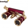 Levenhuk Broadway 325N Red Opera Glasses With LED Light
