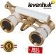 Levenhuk Broadway 325N Opera Glasses White Lorgnette LED