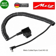 Metz coilled sync cord 45-52