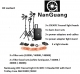 NanGuang LED Fresnel Light CN30FC/3K Kit with Hard Trolley Case