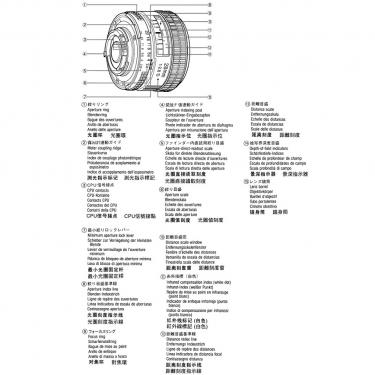 Nikon 28mm F2.8D AF lens