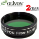 "Olivon 1.25"" High Quality Green #56 Filter"