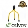 Olivon Mini-Wire Tripod – Yellow