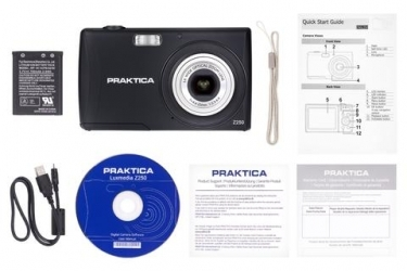 Praktica Luxmedia 20MP Z250 Digital Compact Camera Black